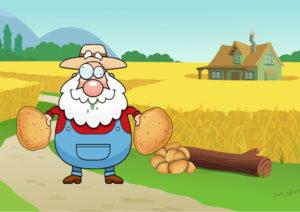 Thema: der-duemmste-bauer-hat-die-gröoessten-kartoffeln