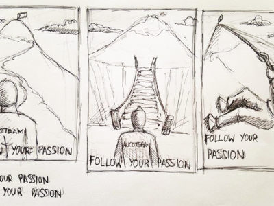 folge deiner Leidenschaft